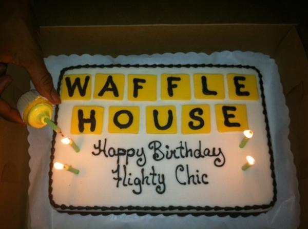 Waffle House Themed Birthday Cake Waffle House Style