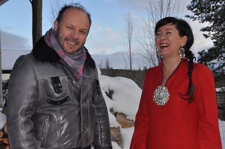 Maret med Marit Hætta Øverli og Klemet Anders Buljo