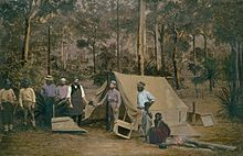 Australian gold rushes; The discovery of the Victorian Goldfields has converted a remote dependency into a country of world wide fame; it has attracted a population, extraordinary in number, with unprecedented rapidity; it has enhanced the value of property to an enormous extent; it has made this the richest country in the world and all this in less than three years.   read more http://en.wikipedia.org/wiki/Australian_gold_rush