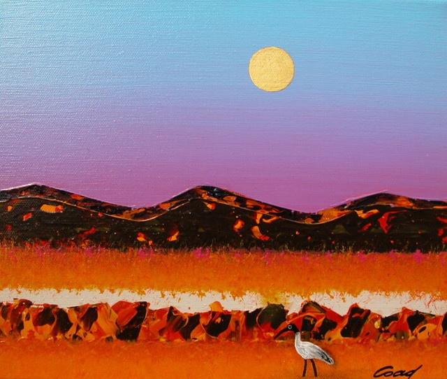 "Peter Coad ""Salt Plain and Sacred Ibis"""