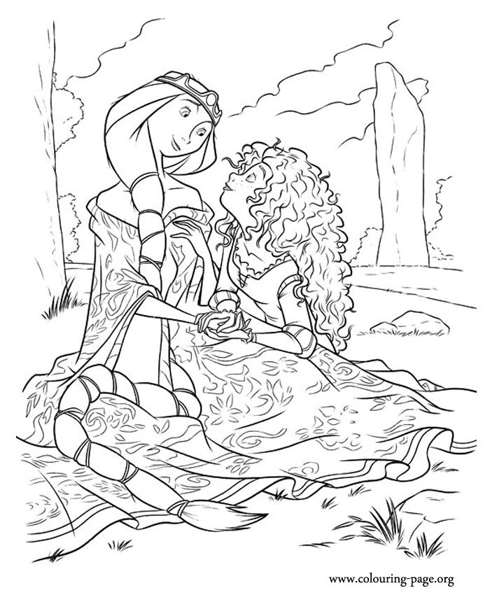 17 best images about color pages on pinterest beauty and for Coloring pages merida
