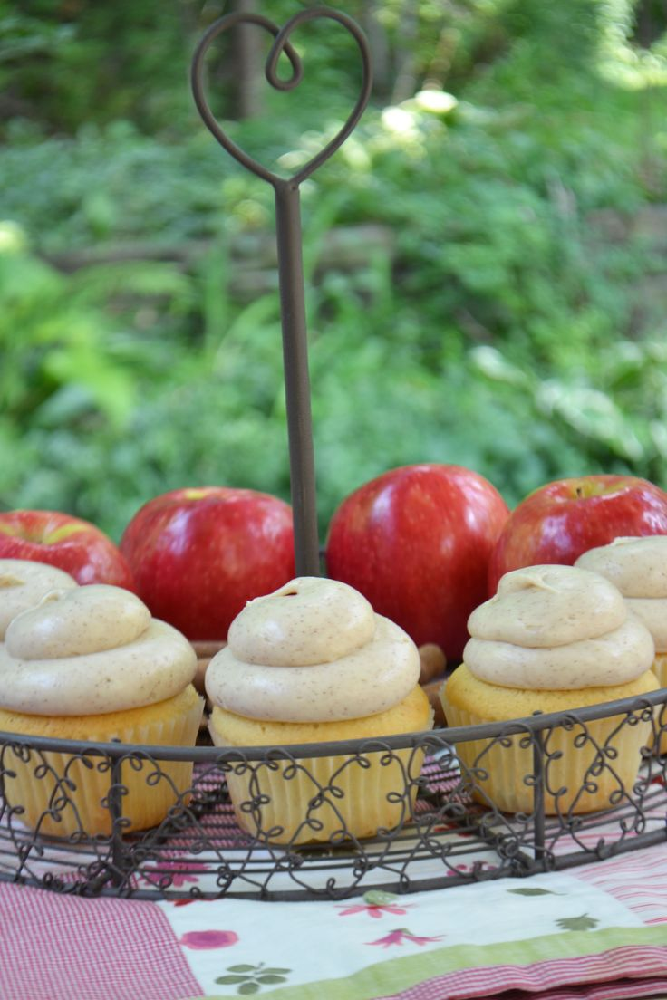 Cinnamon Apple Cupcakes By Bake Sale Toronto