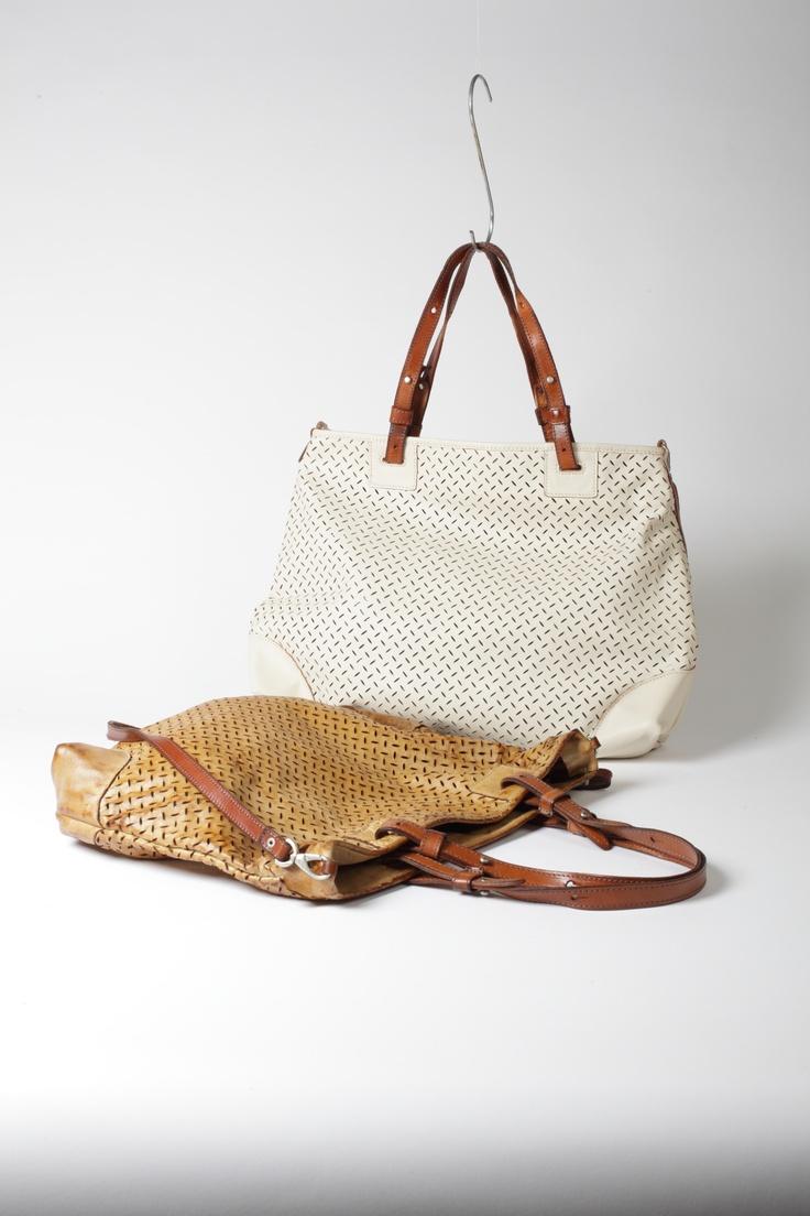 Super Light  leather Shopping Bag