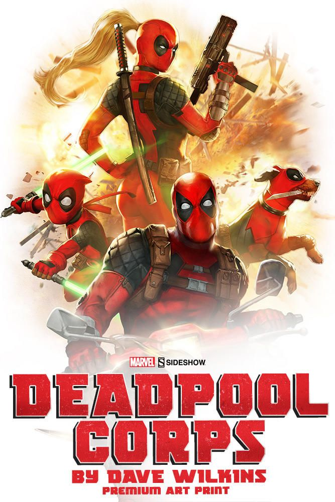 #transformer Sideshow Deadpool Legion High Collection Posters