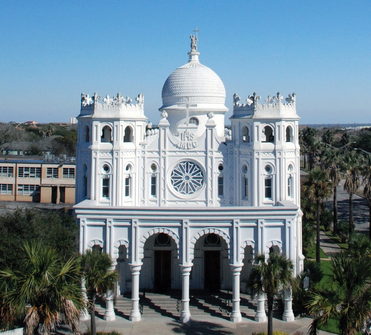 Sacred Heart Church in Galveston, TX.