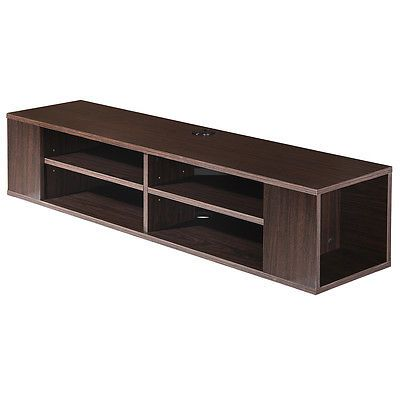 Floating Entertainment Center Wall Mount Hanging Media Console Storage TV Stand