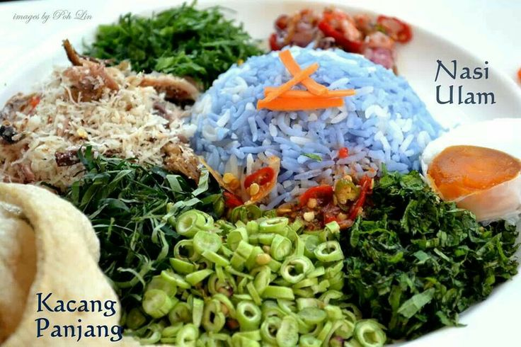 Nasi Ulam (Malaysian Mixed Herb Rice) Recipes — Dishmaps