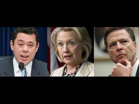 Jason Chaffetz Dismantles FBI Director James Comey Over Hillary Clinton's Lies - YouTube