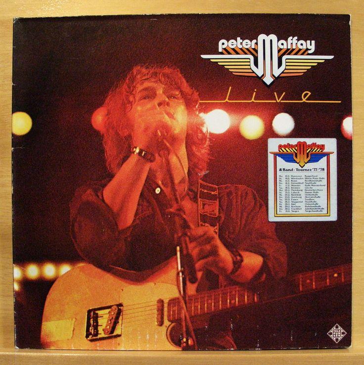 PETER MAFFAY - Live - mint minus - Vinyl LP - FOC - Josie - Du - Top RARE