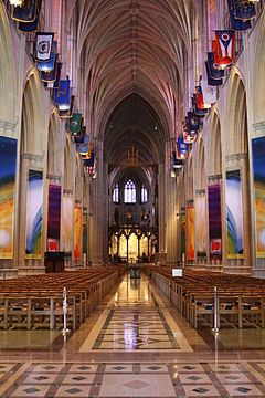 Washington National Cathedral, a.k.a. the Cathedral Church of St. Peter and St. Paul