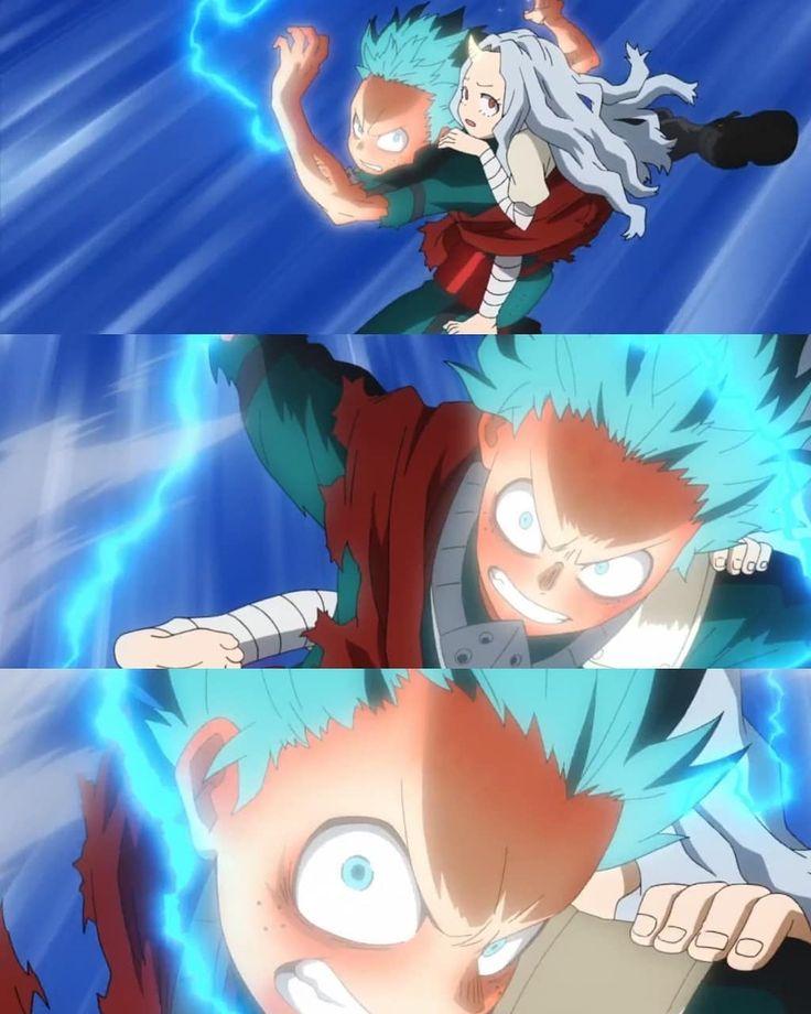 Midoriya was so badass! Midoriya Bokunoheroacademia