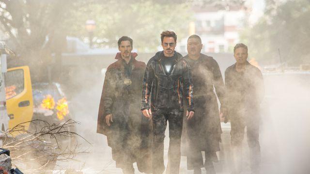 Avengers  Infinity War cast got matching tattoos fans find secret images  embedded 4a158cc44