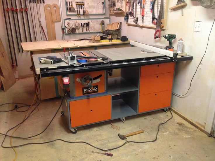 Ridgid Tablesaw Mod Google Search Woodworking Pinterest Search