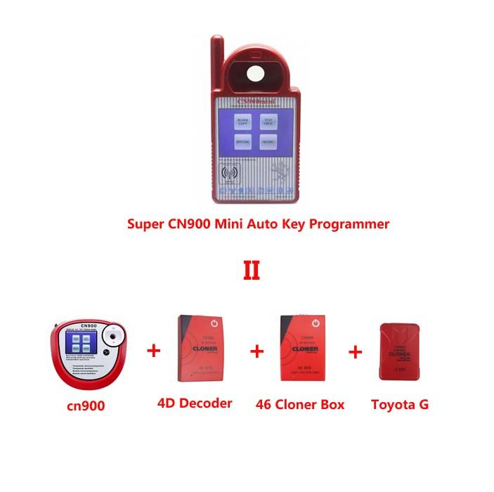 US$188.00/Piece:Buy Wholesale Super CN900 Mini Auto Key Programmer Replacement of CN900 +4D Decoder +46 Cloner Box +Toyota G Chips Cloner Box at reasonable prices from your trusted professional auto diagnostic tools supplier CnAutoTool.com.Super CN900 Mini Auto Key Programmer Replacement of CN900 +4D Decoder +46 Cloner Box +Toyota G Chips Cloner Box