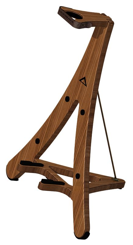 Ultimate Support Axw Wood Guitar Stand Birch