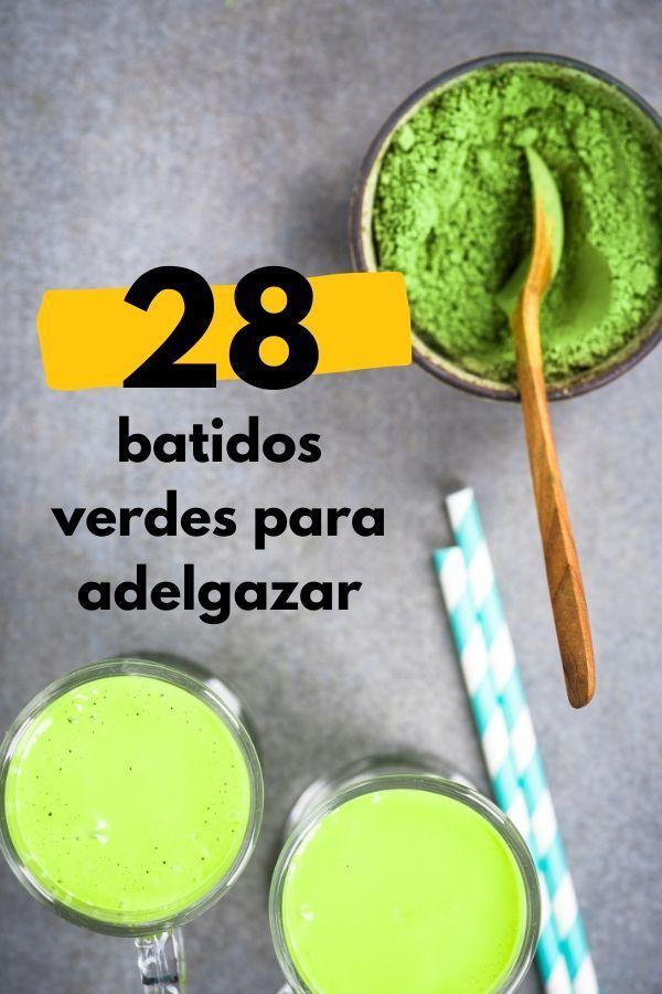 28 Batidos verdes detox ESPECTACULARES! RECETAS PARA ADELGAZAR rápido! 2 Weight Loss Meals, Weight Loss Juice, Best Weight Loss Plan, Weight Loss Drinks, Easy Weight Loss, Healthy Weight Loss, How To Lose Weight Fast, Juicing Vs Smoothies, Smoothie Recipes