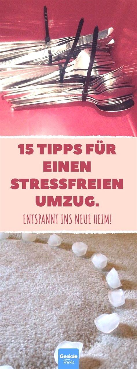 15 Tipps für einen stressfreien Umzug. #umzug #umziehen #wohnortwechsel #tipps …
