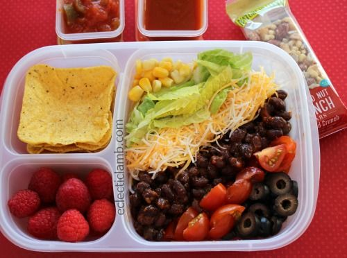 Taco Salad lunch for teen