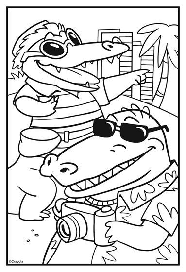 Squad Goals Beach Trip Coloring Page Crayola Com Minion Coloring Pages Coloring Pages Free Coloring Pages