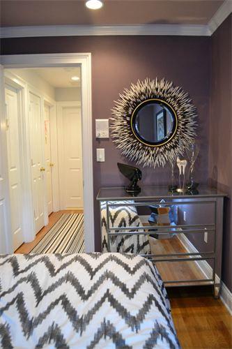 Dark gray wall for Dining Room  colorTHEORY - p o r t f o l i o
