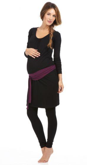 my-winter-box-robe-tunique-legging-et-ceinture-grossesse by Envie de Fraises
