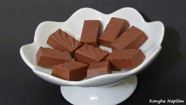 Konyha Naplóm: Málnakrémmel töltött csokoládé