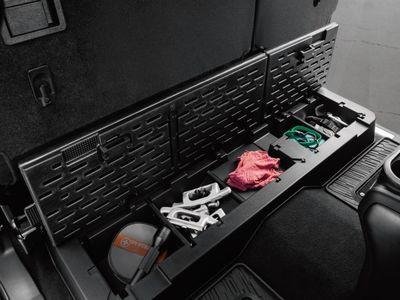 2017 Nissan Titan Rear Under-Seat Storage Bin