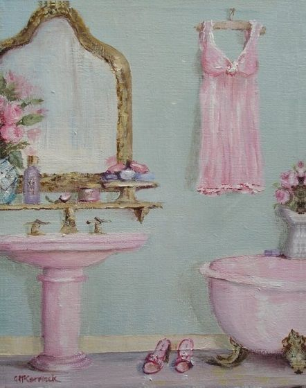Shabby Chic Claw Footed Bath (McCormick)
