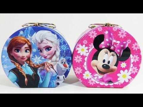 Disney Frozen Minnie Mouse Jewelry Box Planet Putty Surprise Toys Shopkins Disney Princess Palace Pets Disney Zootopia Thanks for watching ToyzSwirl. source