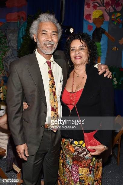 Noel Copeland and Diahnne Abbott Copeland attend the Studio in a School 40th Anniversary Gala at Seagram Building Plaza on May 3 2017 in New York City