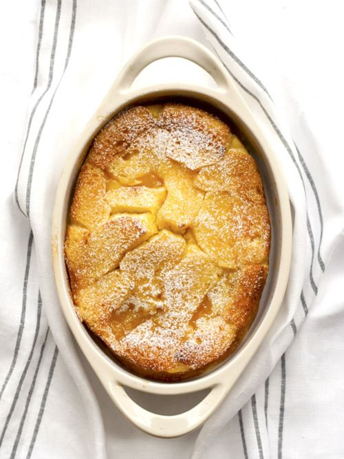 Meyer Lemon Bread Pudding | Bijouxs | Little Jewels from the Kitchen