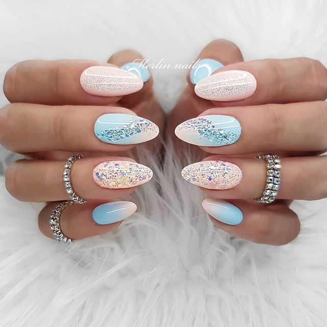 33 Gorgeous nail art design Ideas that perfect for any occasion – pink nails – Coffin nails