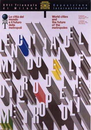 XVII Triennale di Milano, 1988