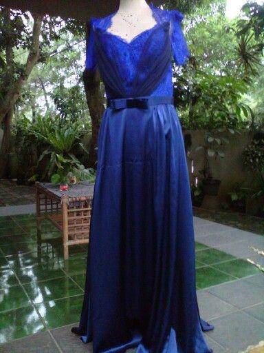 Dress,silk n lace