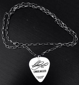 Image of Hand made signature plectrum necklace