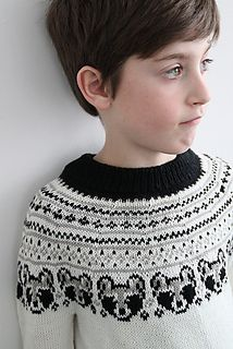 Ravelry: Little bandit sweater pattern by Yvonne B. Thorsen