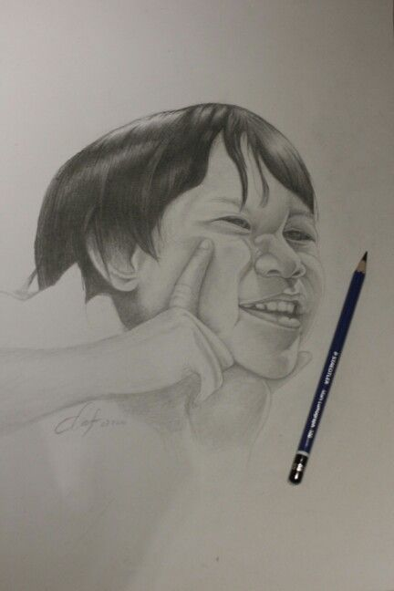 Drawing pencil  30cm X 40cm Created by:Riky def 08/2014
