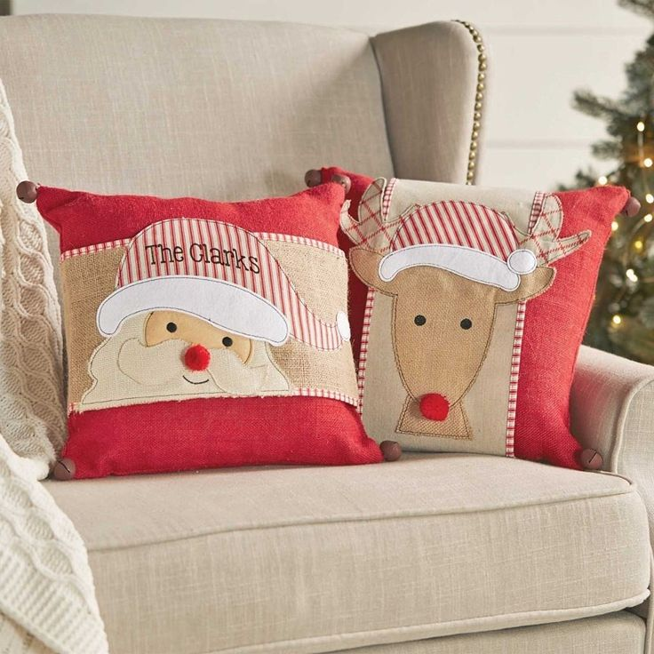 Mud Pie Christmas Holiday HOLLY JOLLY Santa Reindeer Pillow Wraps  BUY NOW http://hot-gamer.tumblr.com/post/149235339112/mud-pie-christmas-holiday-holly-jolly-santa