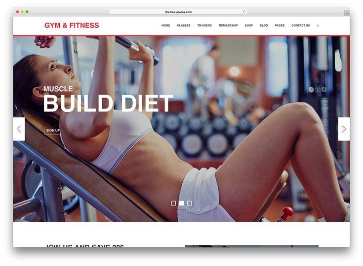 gym fitness - yoga wordpress theme