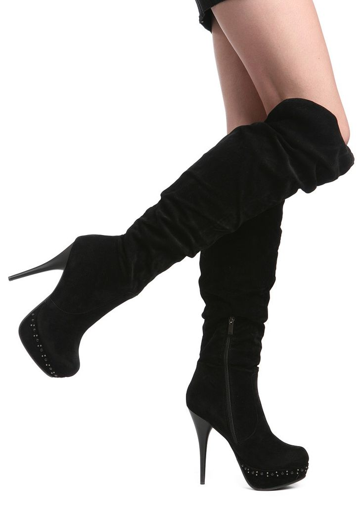 High Heel Boots I love them but i have fat legs that they dont love