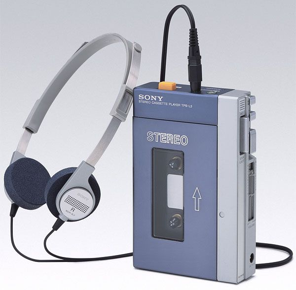 The high-tech Walkman.