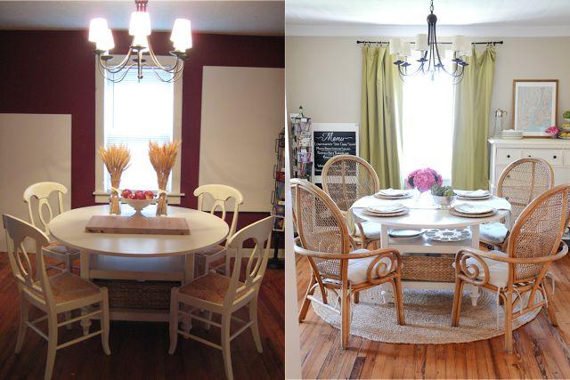 Beautiful dining room. Love those chairs!