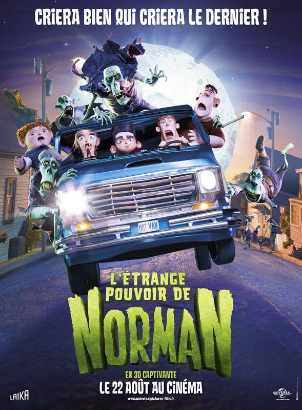 31 octobre : L'Étrange pouvoir de Norman de Sam Fell (2012)