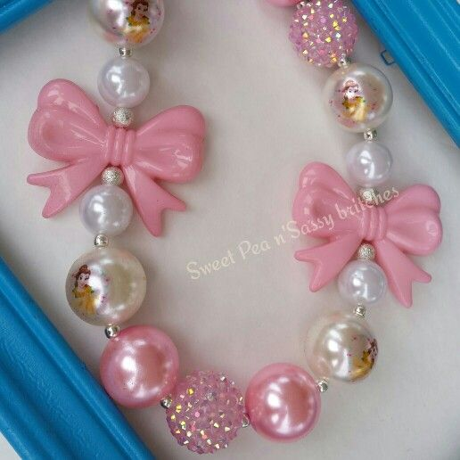 Belle..chunky necklace