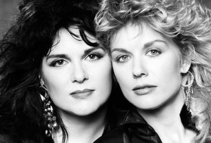 """Heart - Inspired by the Beatles, Nancy and Ann Wilson """"were Beatles fans who wanted to be the Beatles, not be their girlfriends."""""""