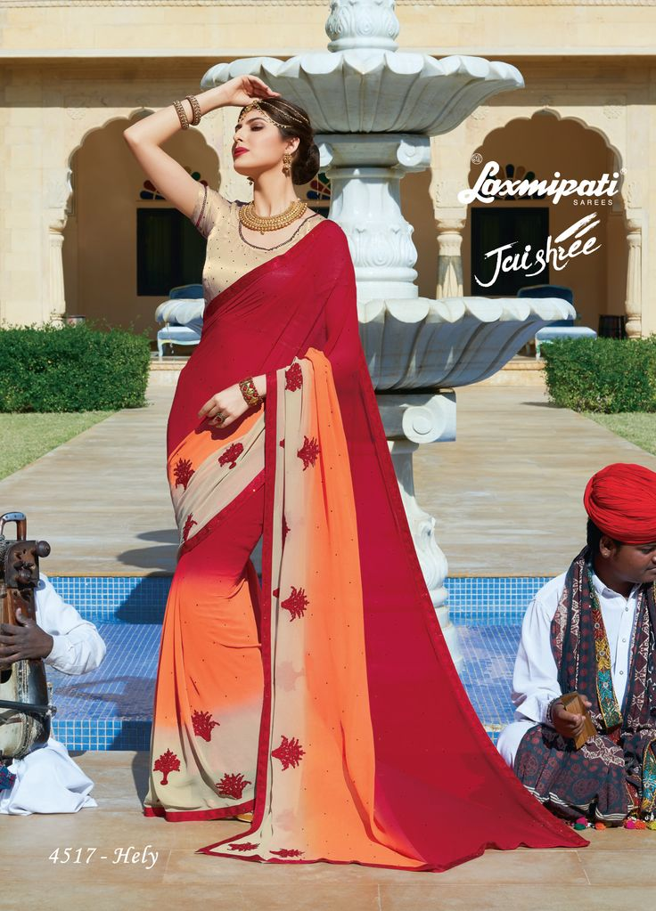 Buy this Eye-Catchy Multicolor Georgette Stone Work Embroidery Saree and Beige Satin Silk Blouse along with Lace Border from Laxmipati at an upcoming special occasion. #Catalogue- #JAISHREE #DesignNumber: 4517 #Price - ₹ 3250.00 Visit for more #designs @ https://goo.gl/o0nD9b #Bridal #ReadyToWear #Wedding #Apparel #Art #Autumn #Black #Border #MakeInIndia #CasualSarees #Clothing #ColoursOfIndia #Couture #Designer #Designersarees #Dress #Dubaifashion #Ecommerce #EpicLove #Ethnic #Ethnicwear…