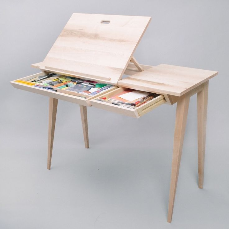 Drafting Desk - Maple : woodworking