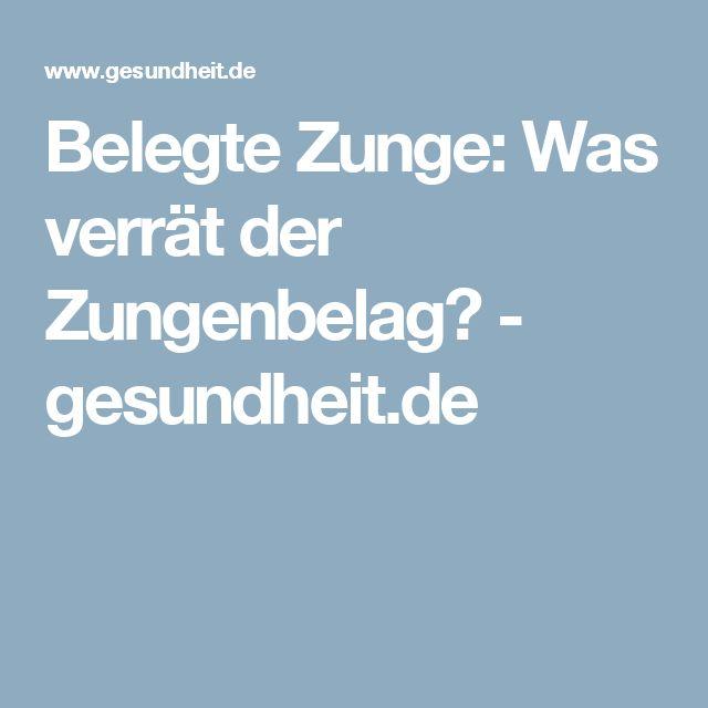 Belegte Zunge: Was verrät der Zungenbelag? - gesundheit.de