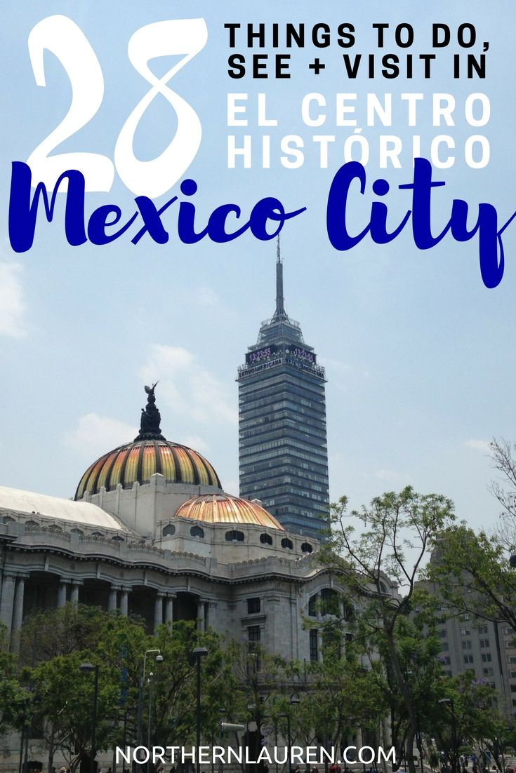 A guide to downtown Mexico City, a.k.a. the historic centre of Mexico City. Here's what to eat, drink, see, do and visit in Mexico City.