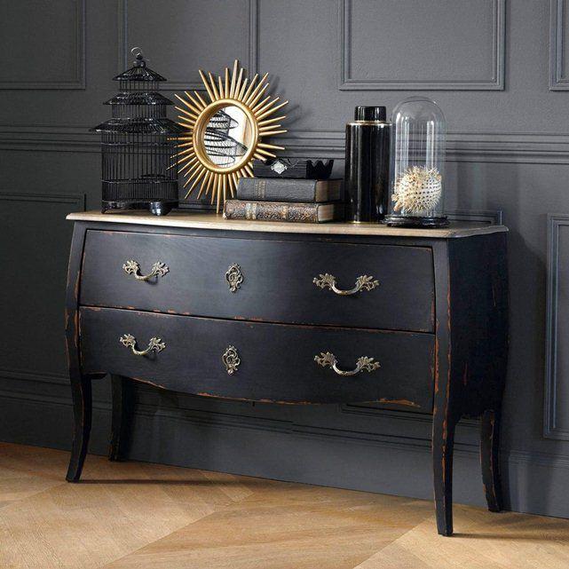 Commode 2 tiroirs, Lipstick La Redoute Interieurs